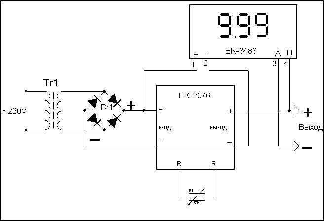 Цифровой амперметр и вольтметр своими руками