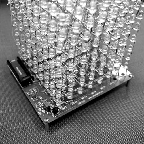 Куб светодиодный своими руками фото